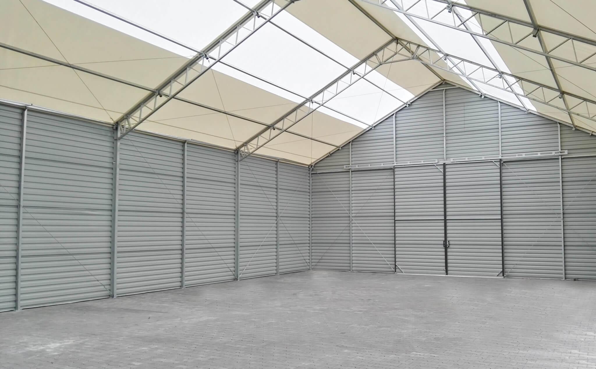 hale namiotowe Węgrów